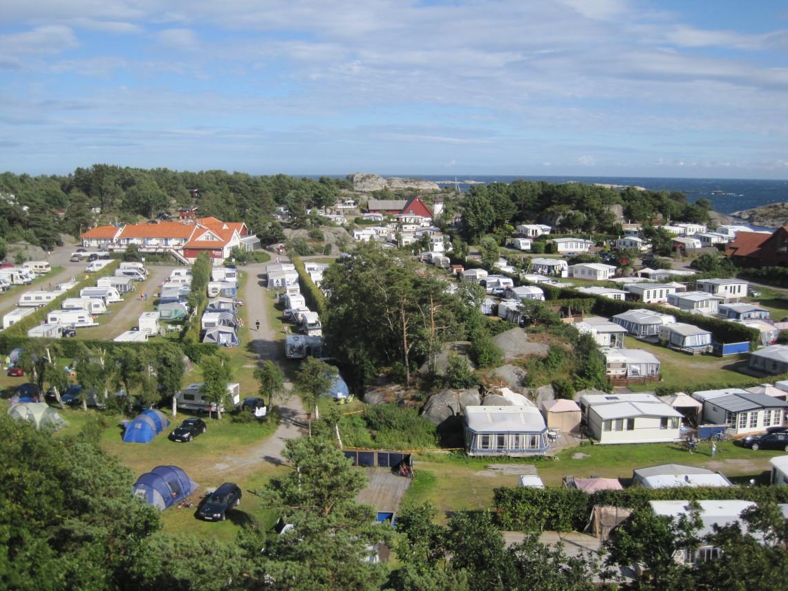 Campingplassene på Skottevik Feriesenter er godt